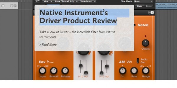 Native Instruments Driver Overview
