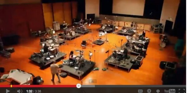 You have *NEVER* seen a drum session like this.