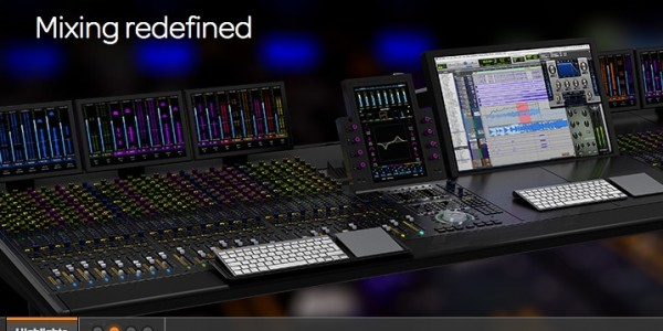 Avid | Avid S6- Modular, customizable EUCON control surface for music and post