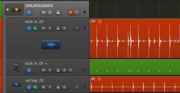 Track Submixing = a packing primer