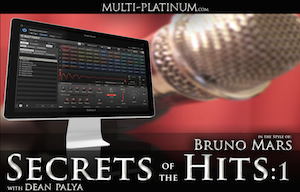 Multi-Platinum Presents Secrets of the Hits v1- In the Style of Bruno Mars